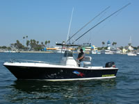 Rapscallion, On the Fly Fishing Charters, California Shark Fishing, San Diego, CA