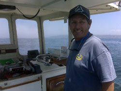 Captain Lou, On the Fly Fishing Charters, California Shark Fishing, San Diego, CA