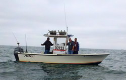 La Pura Vida, On the Fly Fishing Charters, California Shark Fishing, San Diego, CA