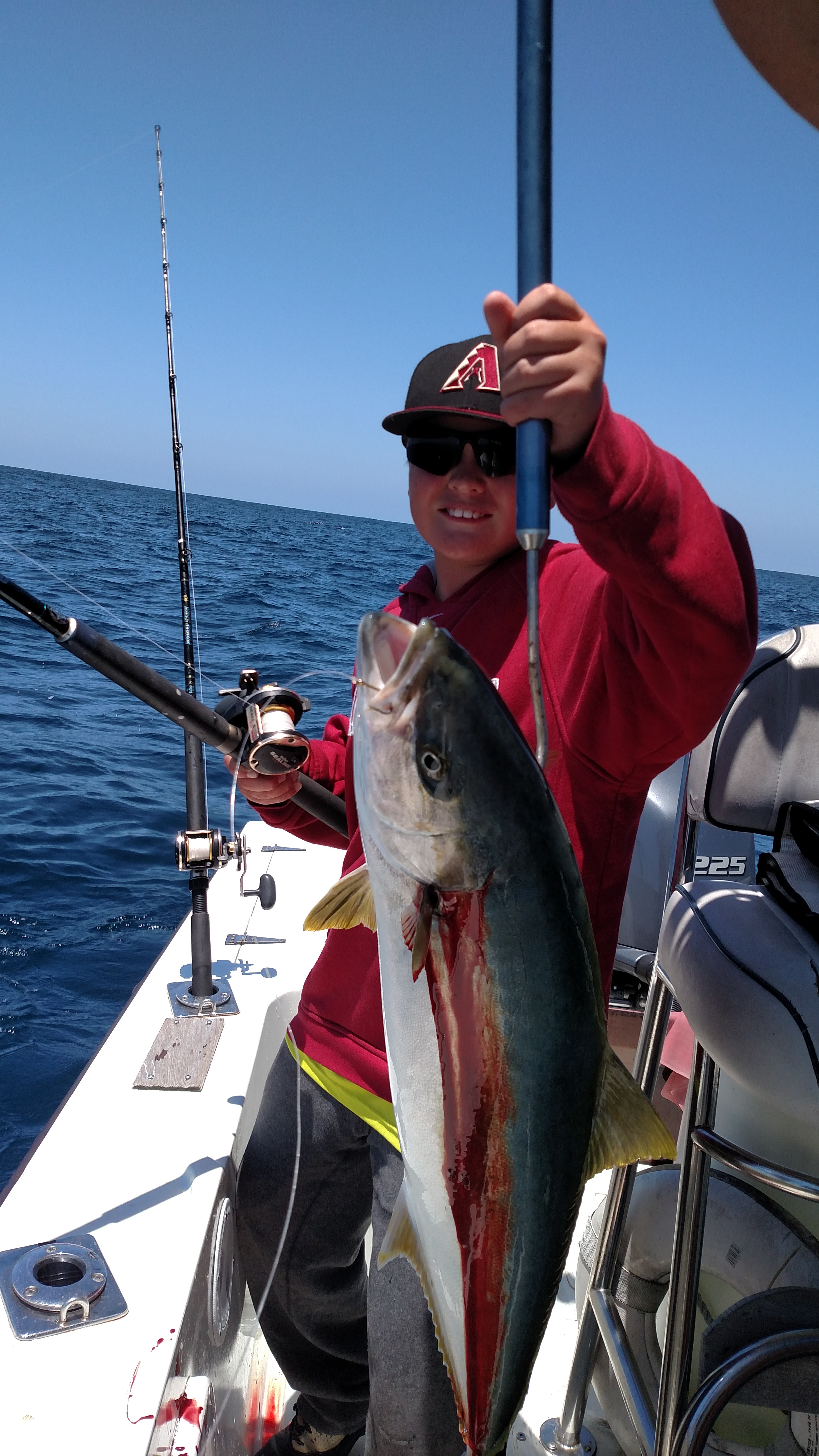 Good offshore fishing on the fly fishing charters for Fly fishing san diego