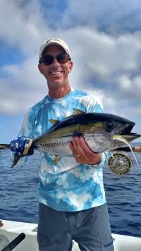 Yellowfin, dorado and hammerheads on the last few trips